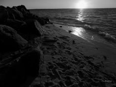 bw-sunset