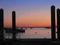 Early Light at Chatham Fish Pier Calendar