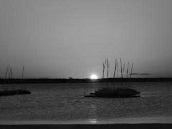 040518 B&W Sunrise in Hytown